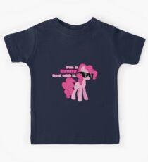 I'm a Brony Deal with it. (Pinkie Pie) - My little Pony Friendship is Magic Kids Tee