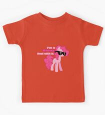 I'm a Brony Deal with it. (Pinkie Pie) - My little Pony Friendship is Magic Kids Tee