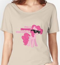 I'm a Brony Deal with it. (Pinkie Pie) - My little Pony Friendship is Magic Women's Relaxed Fit T-Shirt