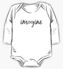 Imagine - John Lennon  One Piece - Long Sleeve