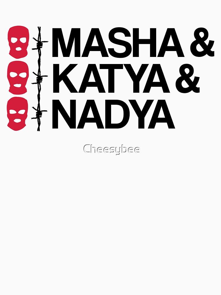 MASHA & KATYA & NADYA PUSSY RIOT von Cheesybee