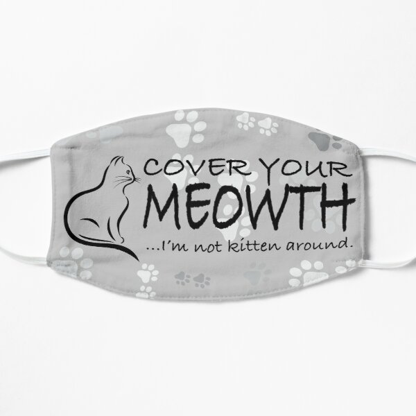 Cover your Meowth! Flat Mask