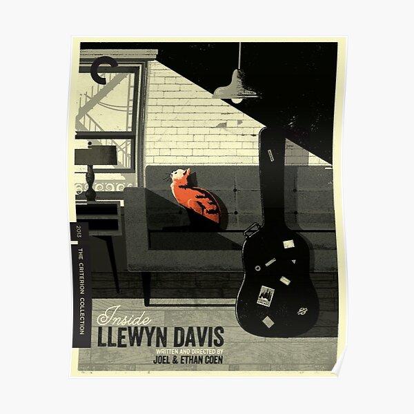 Criterion Collection Spine #794 - Inside Llewyn Davis (2013) Poster
