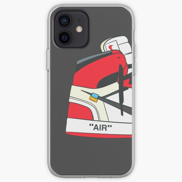 Retro High Off White OG Chicago Funda blanda para iPhone