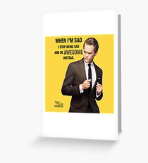 Awesome - HIMYM Greeting Card