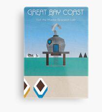 Majora's Mask - Great Bay Poster Metal Print