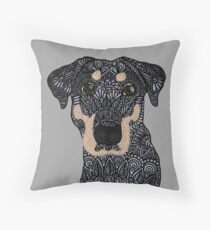 Roxie Puppy Throw Pillow