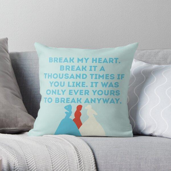 The Selection Throw Pillow