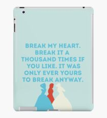 The Selection iPad Case/Skin