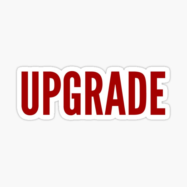 UPGRADE STICKER for Real Estate Sticker