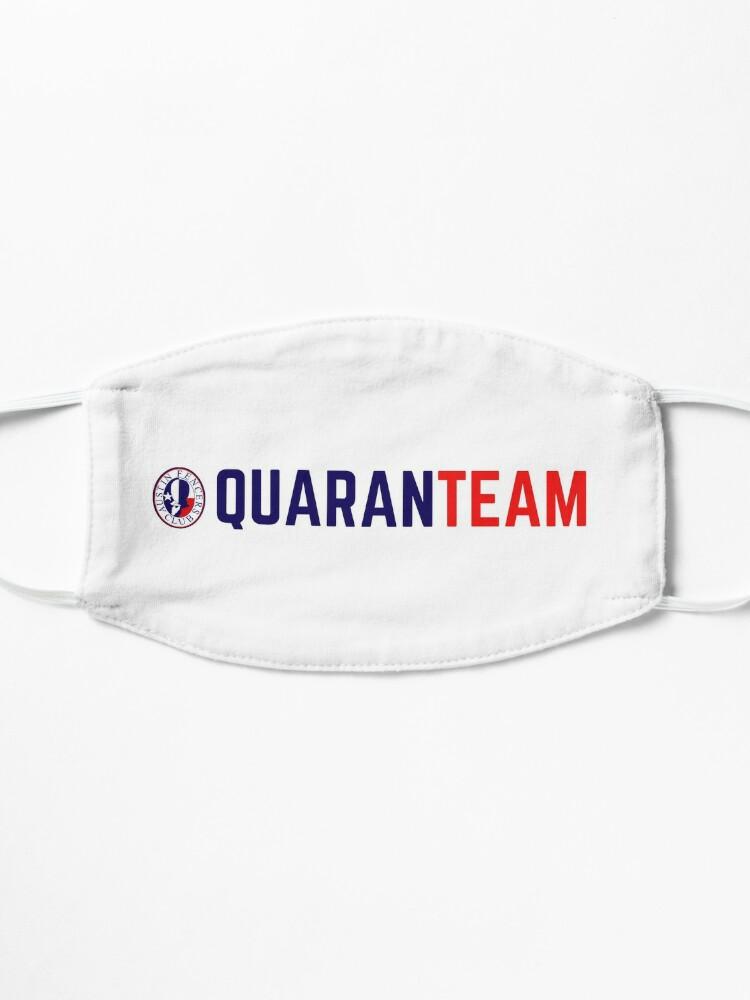Alternate view of AFC QuaranTEAM 1 Mask
