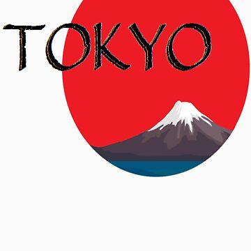 Mount Fuji, Tokyo Japan by Rising-Son