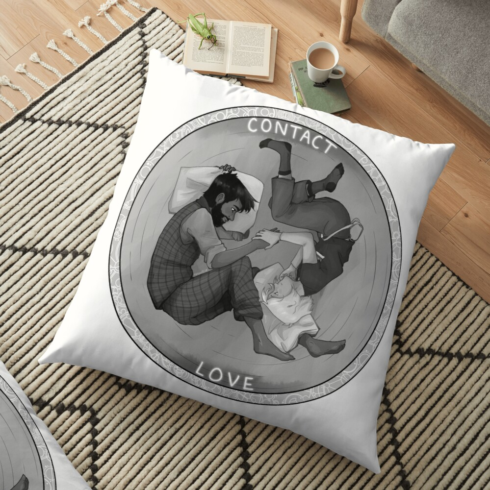 Doctor / Master -- Contact Floor Pillow
