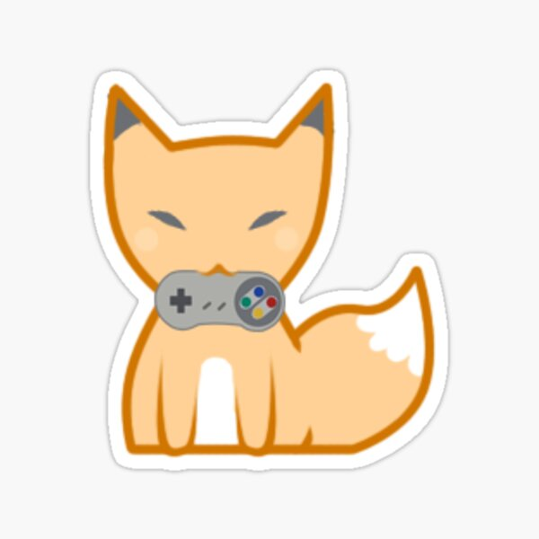 GamerFox Sticker