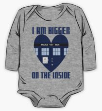 Bigger on the Inside One Piece - Long Sleeve
