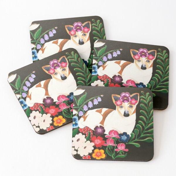 Zelda P. Kahlo Coasters (Set of 4)