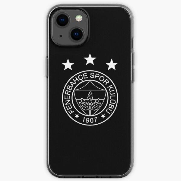Fenerbahce Black iPhone Soft Case
