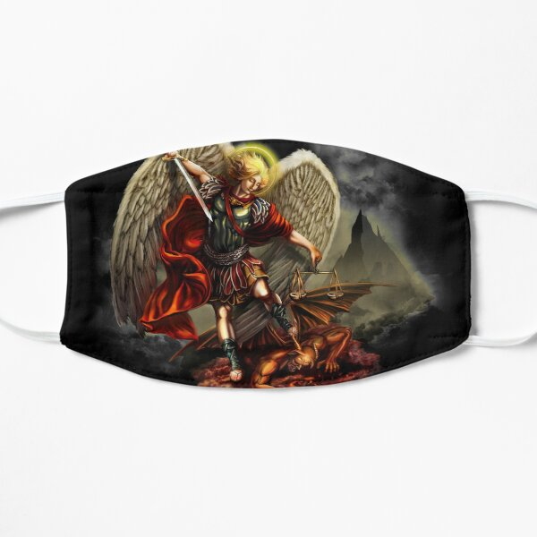 Saint Michael Archangel against the Devil Mask