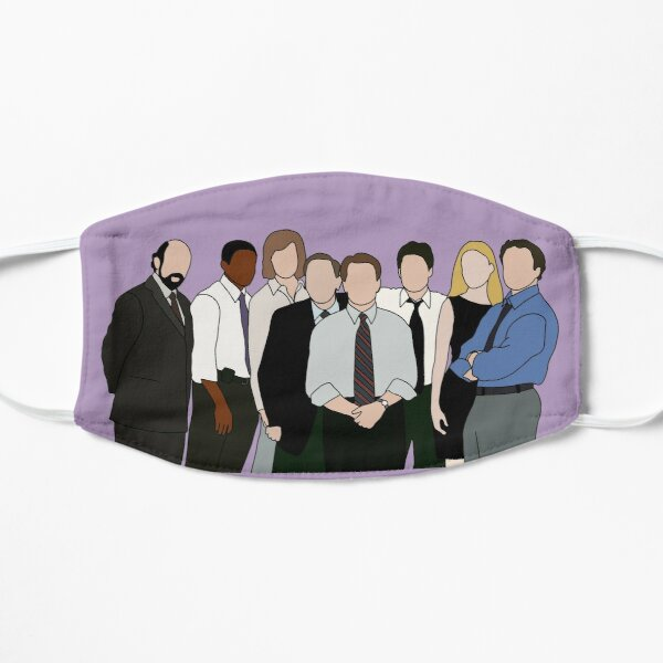 the west wing Flat Mask