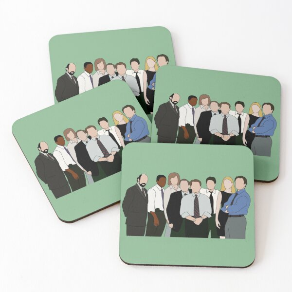 the west wing Coasters (Set of 4)