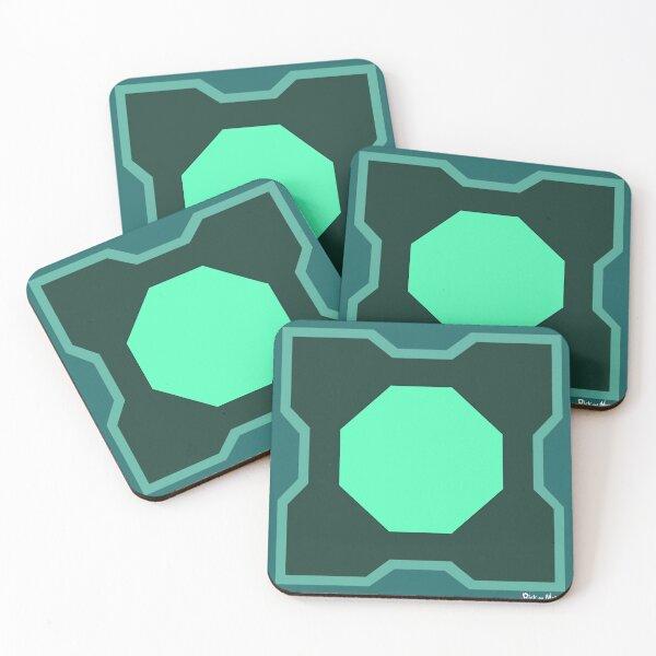 Mr. Meeseeks Box Coasters (Set of 4)