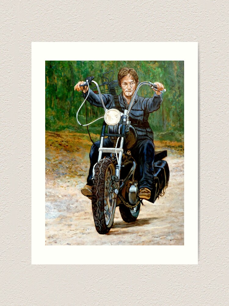 Alternate view of Ride, Don't Walk Art Print