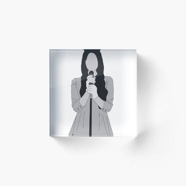 Bloques Acrilicos Lana Del Rey Redbubble