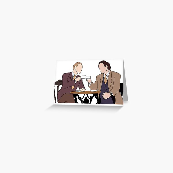 niles and frasier Greeting Card