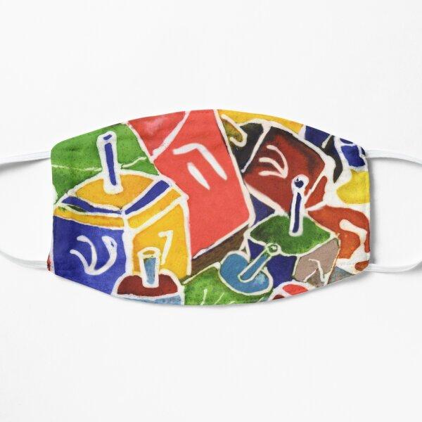 Dreidel Time Flat Mask