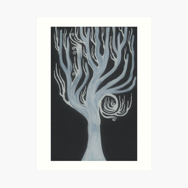 Lord Of The Holy Woods Art Print