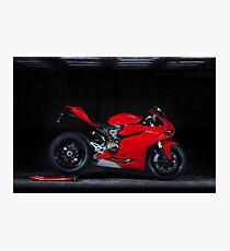 Ducati 1199 Panigale Photographic Print