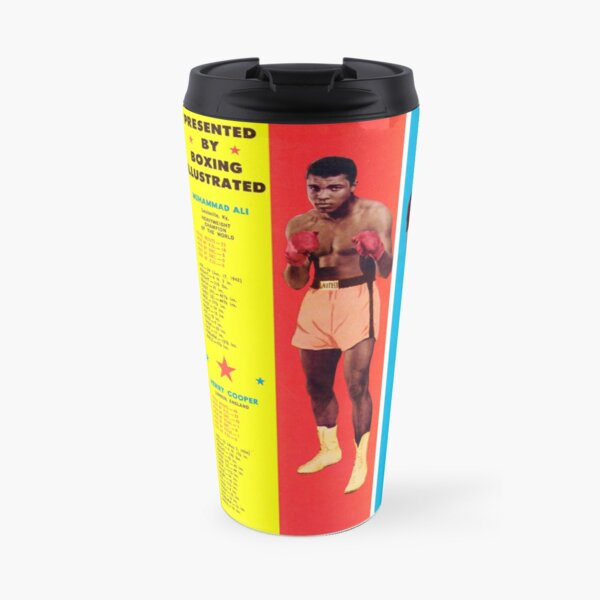 Boxing t-shirt and poster: Heavyweight fighters Travel Mug
