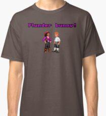 Monkey Island Plunder Bunny Retro Pixel DOS game fan item Classic T-Shirt
