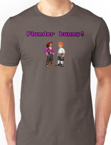 Monkey Island Plunder Bunny Retro Pixel DOS game fan item Unisex T-Shirt