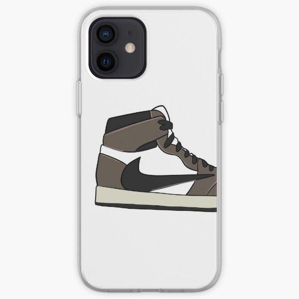 Retro High Travis Scott Jordan 1 iPhone Soft Case