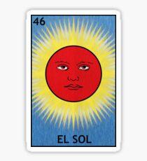 El Sol - The Sun Sticker