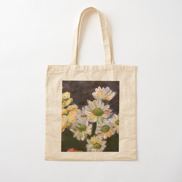 Daisies  Cotton Tote Bag