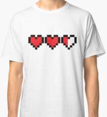 Zelda Heart Container Classic T-Shirt