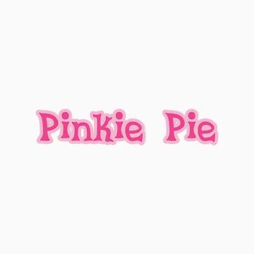 Pinkie Pie Sticker by teiptr