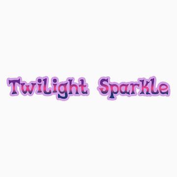 Twilight Sparkle Sticker by teiptr