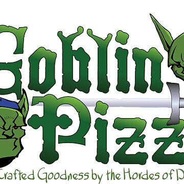 Goblin Pizza Logo by lor7883