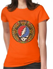 2012 Mayan Steal Your Face - Full Color Womens Fitted T-Shirt