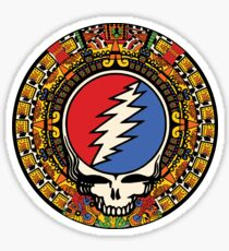 2012 Mayan Steal Your Face - Full Color Sticker