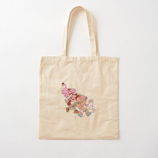 Strawberry Shortcake & Apricot Cotton Tote Bag
