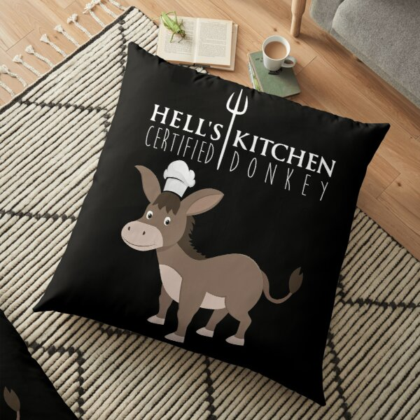 Hell's Kitchen - Certified Donkey Floor Pillow