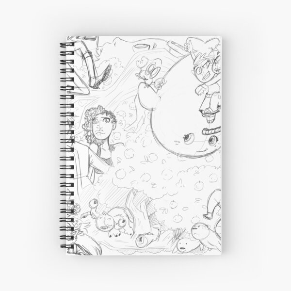 JenjoInk Sketch Spiral Notebook