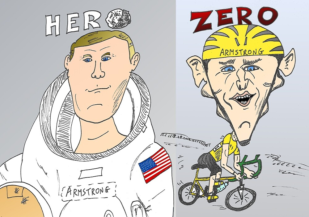 Armstrong vs. Armstrong - Hero and Zero by Binary-Options