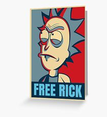 Free Rick Greeting Card