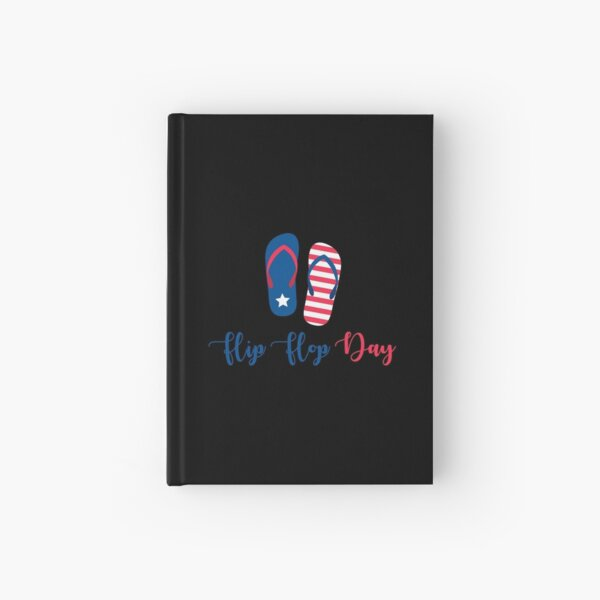 Flip Flops daY Hardcover Journal