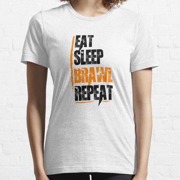 Mangez la répétition des bagarres de sommeil T-shirt essentiel
